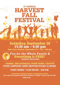 Fall Festival Flyer Template Printable Flyers In Word   Fall ...