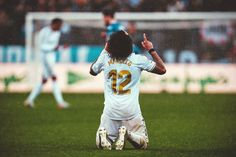 Marcelo #Marcelo Real Madrid Club, Soccer, My Love, Sports, Hs Sports, Football, European Football, Sport, Soccer Ball
