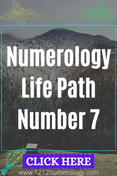 In Numerology, 7 is the sacred number that symbolizes secret, analysis, understanding and lies in the evolution of the process. And on the 7th day God rested. Number 7 has the energy of deepening into oneself and distancing oneself from the world to go deep within. Numerology number 7 is a combination of spiritual and material. Seven is the triumph of spirit over matter. Every seven years human body and soul is renewed. Numerology Number 7, Life Path Number 7, Number Patterns, Body And Soul, Human Body, Paths, Evolution, Meant To Be, Numbers