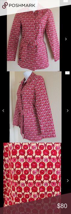 "🔥Hot Item🔥Gap XS Coat 100% Cotton B9 Gap Coat  Size XS  Stiff Thick Feel  Exterior Pockets  100% Cotton  Hidden Button Closure  Matching Belt  Measurements while laying flat:  Shoulder to Shoulder 15 1/2""  Armpit to Armpit 17""  Length from Shoulder 28 1/2""  Sleeve Length 23""  Waist 17 1/2""  Hips 19 1/2"" GAP Jackets & Coats"