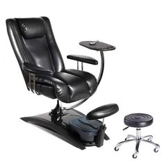 03c03bc69ce8 Belava Embrace plumbing free pedicure chair features a high backed