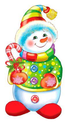 snowmen.quenalbertini: Christmas snowman | Photo, author lar20820639 on Yandex