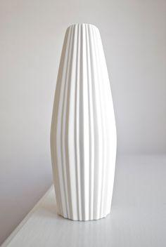 mid-century porcelain vase