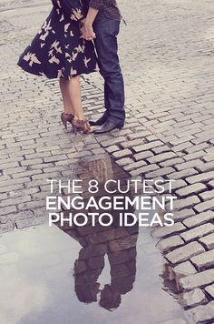 Your engagement photos are the perfect time to practice getting comfortable in front of a camera. We've got the cutest poses from real couples for you to keep in your back pocket.