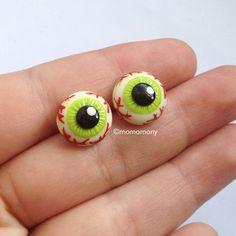 Ojos lindos aretes