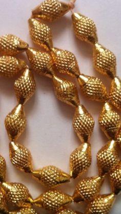 Antique Handmade Wax Spot Bormala Kolhapur K T ARTS 09158990151 Gold Jewellery Design, Bead Jewellery, Beaded Jewelry, Antique Jewelry, Designer Jewelry, Beaded Necklace, Coral Jewelry, India Jewelry, Wedding Jewelry
