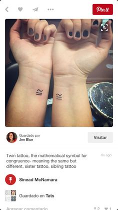 Twin Tattoo