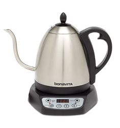 Shop for electric kettle temperature control at Bed Bath & Beyond. Buy top selling products like Hamilton Beach® Stainless Steel Professional Digital Kettle and OXO Brew Adjustable Temperature Electric Gooseneck Stainless Steel Kettle. Shop now! Specialty Appliances, Small Appliances, Kitchen Appliances, Kitchens, Barista, Pour Over Kettle, Perfect Cup Of Tea, Thing 1, Pour Over Coffee