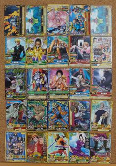 #‎OnePiece‬ :  One Py Berry Match : 25 Japanese Trading Cards http://www.japanstuff.biz/ CLICK THE FOLLOWING LINK TO BUY IT ( IF STILL AVAILABLE ) http://www.delcampe.net/page/item/id,0381269997,language,E.html