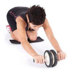Rueda Fitness Ejercicio Abdominal Abs Ultrasport estómago Shimverb Rodillo con Mat