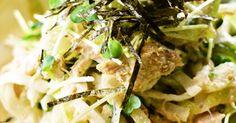 マヨxぽん酢のさっぱりサラダです♪モリモリ食べられるよ!特にこってり味の主菜の時にオススメ♪