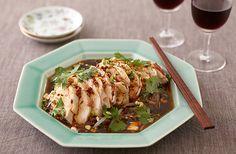 よだれ鶏~四川風鶏肉のピリ辛ダレ~   お酒にピッタリ!おすすめレシピ   サッポロビール