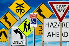 Getting ready to take your driving permit exam? You'll need to know your road signs! Here's a quick breakdown of what you need to know about road signs.