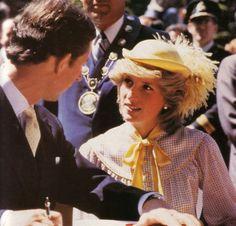 Princess Diana in Canada, June 28, 1983