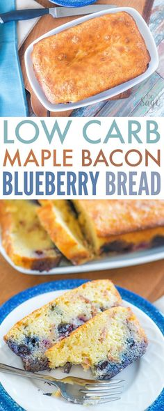 Treat yourself to a delicious keto treat with this low carb maple bacon blueberry bread sweetened with stevia & flavored with maple extract. This is a fantastic low carb treat for breakfast or as a snack or dessert. It will satisfy your craving for a sweet treat for sure! Inspired by Vita Bone Artisan Inspired Dog Treats that smell and taste like human food for your dog! #vitabone #ad