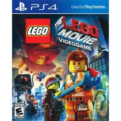 Warner Home Video Games Lego Movie Videogame - Nintendo Wii U Ps4 Games For Kids, Lego Games, Xbox 360 Games, Playstation Games, Lego Film, Lego Movie, Game Movie, Nintendo 3ds, Nintendo Eshop