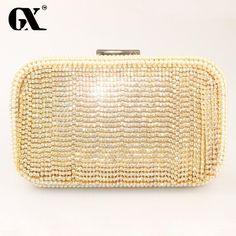 GX 2016 New Clutch & Wedding Bags Fashion Handbag for Women Party Purse Gold Clutch Luxury Handbags Women Bags Designer