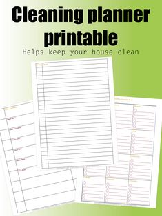 Let me help clean your house with this planner. I have a passion for cleaning and organizing and I can help you. The #cleaning #planner that #helps you #clean your #house and keep is that way. I can help you #organize your #life and keep you #happy. It is a #simple #printable #planner that you can #print in the #comfort of your own #home. #organizing might be the #most #important thing in my #life. And I can help #you #do the same. #cleaner #organizer #cleanhouse #cleanplanner #organizerooms Making A Business Plan, Business Planning, Organization Hacks, Organizing, Printable Planner, Printables, Helping Cleaning, Printer Paper, Organizations