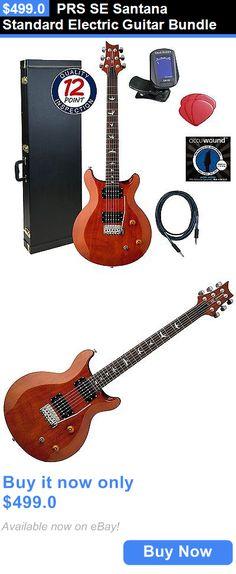 musical instruments: Prs Se Santana Standard Electric Guitar Bundle BUY IT NOW ONLY: $499.0