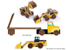http://playtimetoyplans.com/collections/all/products/hi-loader-and-low-boy-truck