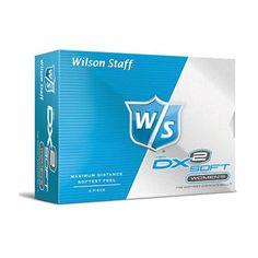 Wilson Staff Ladies DX2 Soft Golf Balls Wilson Golf, Golf Ball, Balls, Lady