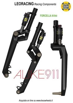 carbon monoblade suspension fork
