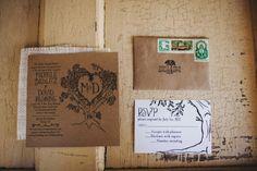 ranch wedding invitations | ... & David had their wedding at the Dos Pueblos Ranch. Quality people