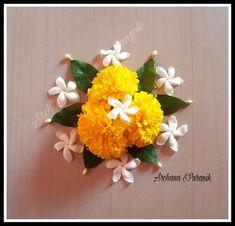 My 🍂Floral 🍂 Rangolis 💕 👇🙂 😍 Archana Puranik's Rangolis 😍 Simple Flower Rangoli, Simple Rangoli Border Designs, Easy Rangoli Designs Diwali, Rangoli Designs Flower, Rangoli Ideas, Flower Designs, Diwali Decorations At Home, Festival Decorations, Flower Decorations