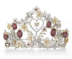 Hello Kitty ruby peal tiara.  Gorgeous!!  The article about it is mean tho. They're just haters!