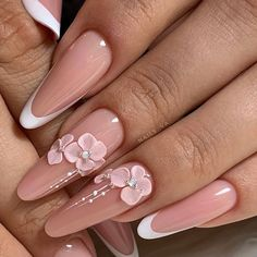 - Best ideas for decoration and makeup - 3d Nail Designs, Nail Art Designs Videos, Acrylic Nail Designs, 3d Acrylic Nails, 3d Nail Art, Pastel Nails, Rhinestone Nails, Bling Nails, 3d Flower Nails