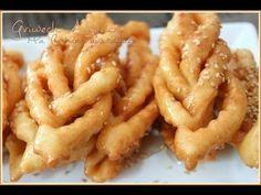 French Macaroon Recipes, French Macaroons, Ramadan Sweets, Ramadan Recipes, Beignets, Food Network Recipes, Cooking Recipes, Algerian Recipes, Greek Sweets