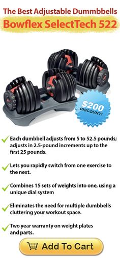 Best Adjustable Dumbbells: Absolute Best Deals On Adjustable Dumbbells