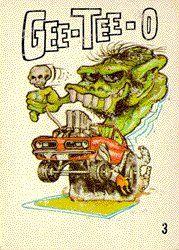 Odd Rods (Base Set) Trading Card by Donruss in Grid View Cartoon Car Drawing, Cartoon Rat, Ed Roth Art, Cartoons Magazine, Cool Car Drawings, Monster Car, Dc Comics, Rat Fink, Garage Art