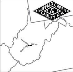The Buffalo Creek and Gauley Railroad