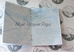 Awesome printable passport with cool interior pages. French Trip, National Park Passport, Student Of The Week, Kindergarten Social Studies, Thinking Day, Camping Crafts, School Counseling, Girl Scouts, Printables