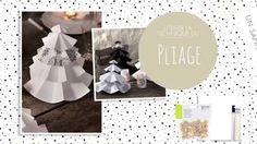 [TUTO] Décoration Noël : réaliser des sapins en papier