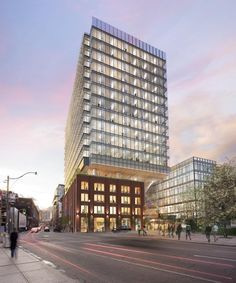 Richmond Street view of QRC West, Toronto, by &Co Architects for Allied REIT