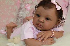REBORN BABY SHYANN  * ETHNIC  * AA * BIRACIAL BEAUTIFULLY REALISTIC