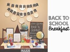 The First Grade Parade: Back To School