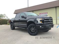 "F-150 with 20"" Fuel Octane's wrapped in Nitto EXO with Readylift level Fuel Offroad NITTO TIRE USA ReadyLIFT"