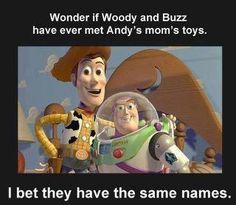 Woody & Buzz...