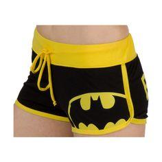 Batman Boy Shorts ($30) ❤ liked on Polyvore
