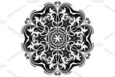Oriental vector pattern with damask, arabesque and floral elements. Arabesque, Vector Pattern, Abstract Backgrounds, Damask Patterns, Oriental, Graphic Design, Illustration, Floral, Cards