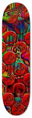 Vonnegut Sludge Sk8 deck #sk8ordie #sk8 #skateboard #deck #bornfree