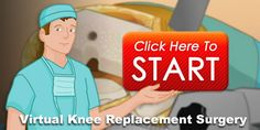 Virtual Knee Replacement Surgery