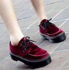 Elegant Style Platform Cusp Fashion Shoes Apricot Apricot PF0008