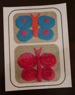 Les papillons : Motricité fine, modelage