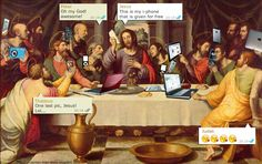 MI LABORATORIO DE IDEAS: the last supper in the modern age