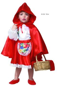 Disfresses on pinterest wolves little red and wolf costume - Caperucita roja disfraz casero ...