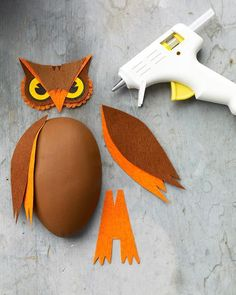 Standing Owl Treat Boxes How-To